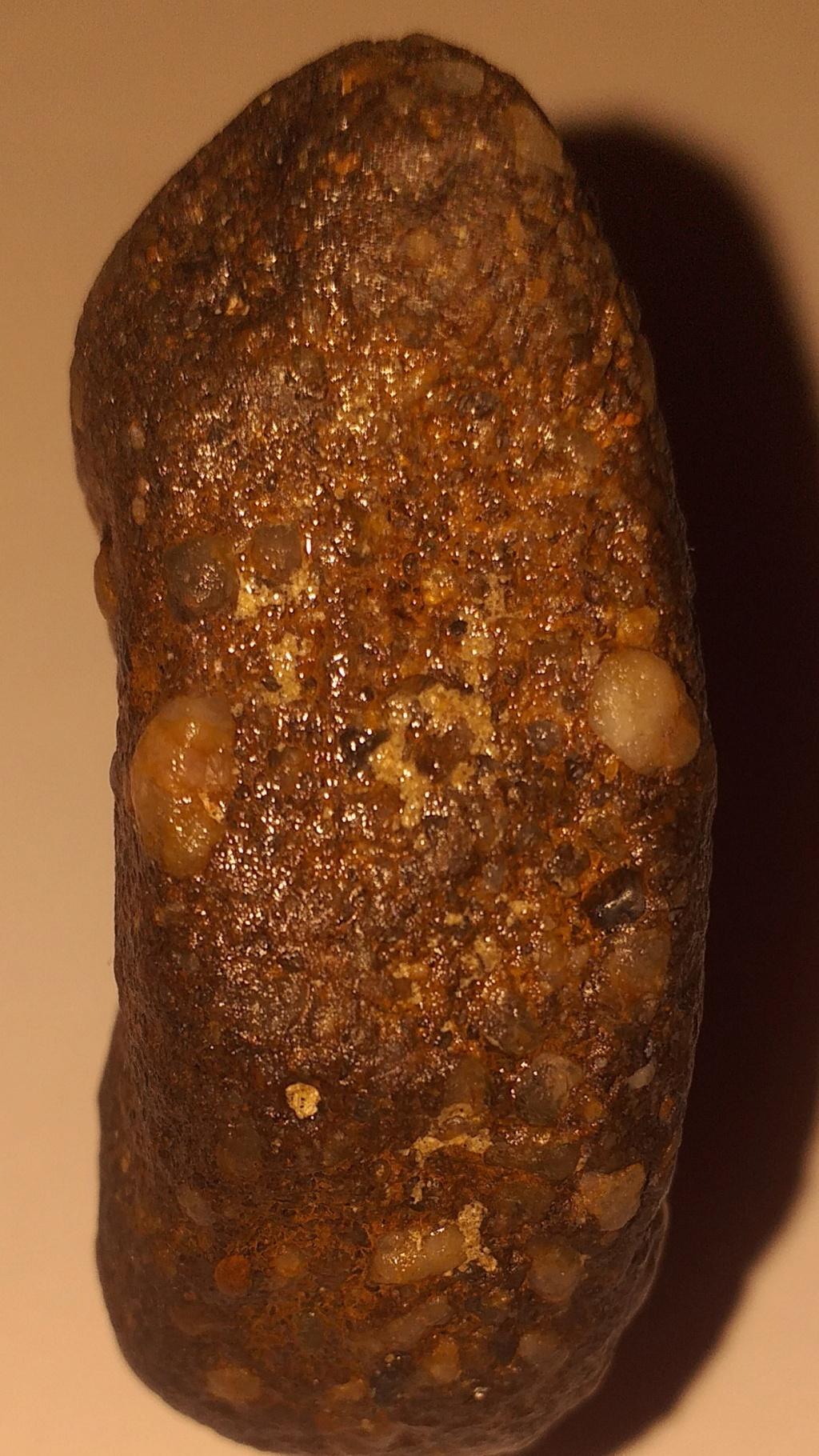 Meteiorite ou pierre terrestre  20210723