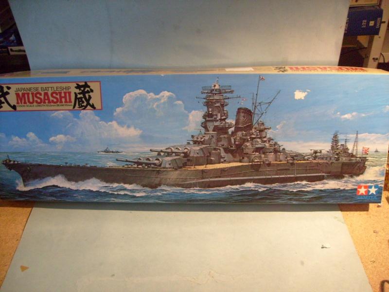 [Tamiya]Yamato & Musashi,1/350 S7300324