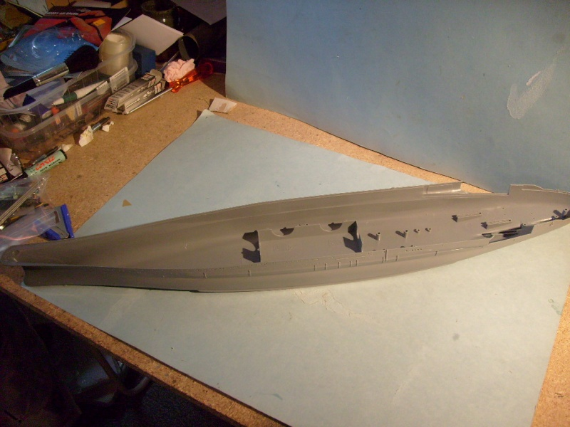 [Tamiya]Yamato & Musashi,1/350 S7300343