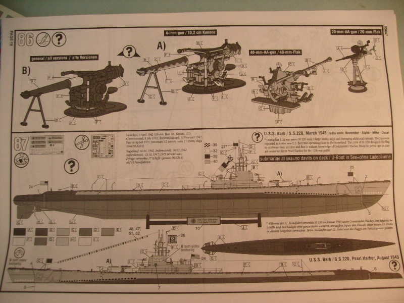 [Revell]US Navy GATO-CLASS Submarine S7300515