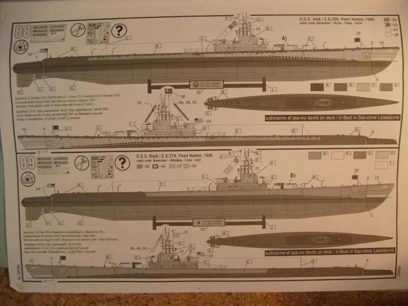 [Revell]US Navy GATO-CLASS Submarine S7300516