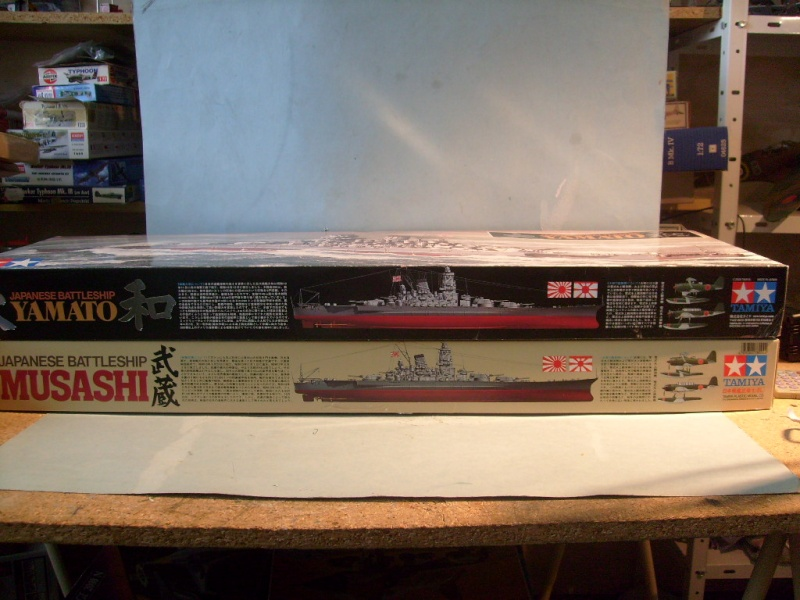 [Tamiya]Yamato & Musashi,1/350 S7300614