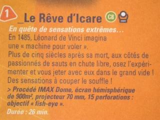 Le Rêve d'Icare (Omnimax) - (2004-2005) File0210