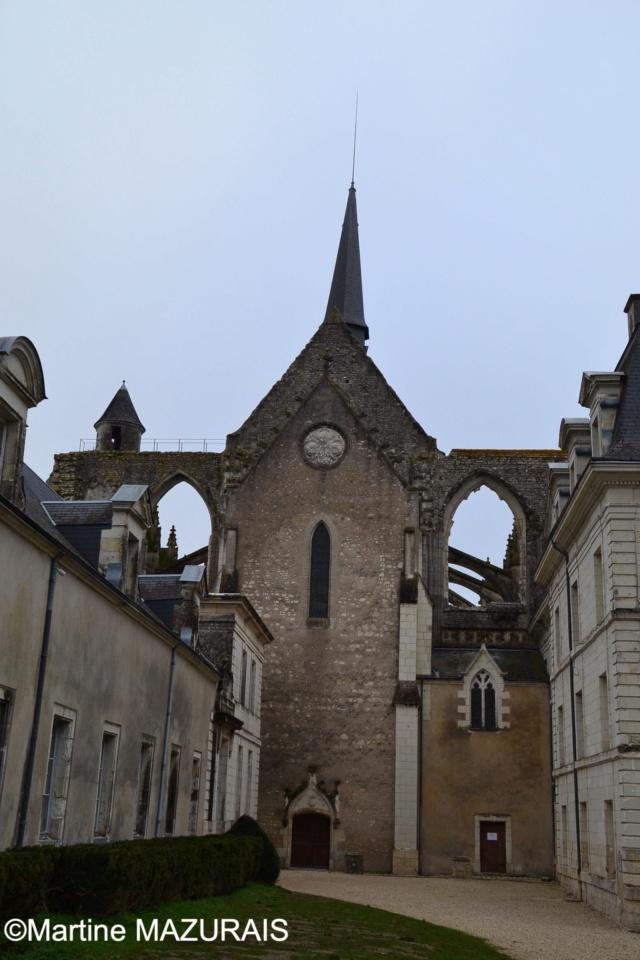 Pontlevoy - L'abbaye et l'église 01-01-16