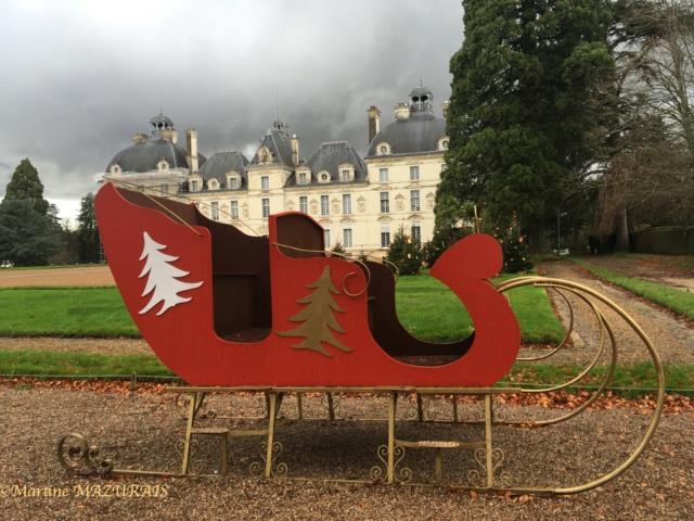 Cheverny - Le château 08-12-13