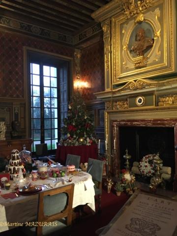 Cheverny - Le château 08-12-22