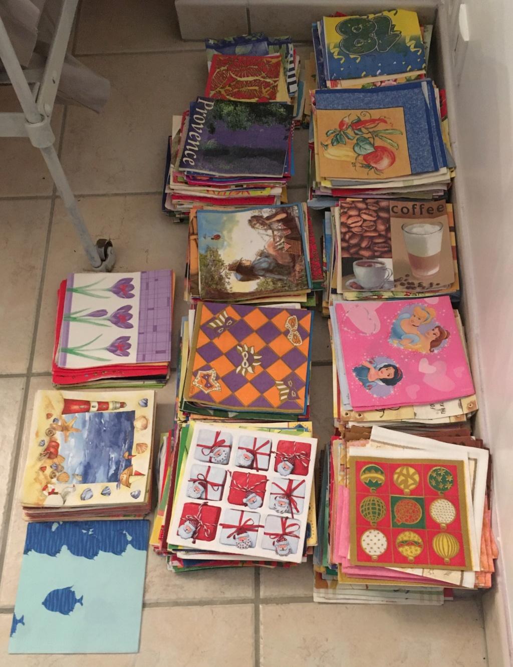 750 serviettes en papier 0810