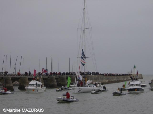 Les Sables d'Olonne - Vendée Globe 2008/2009 10-03-17