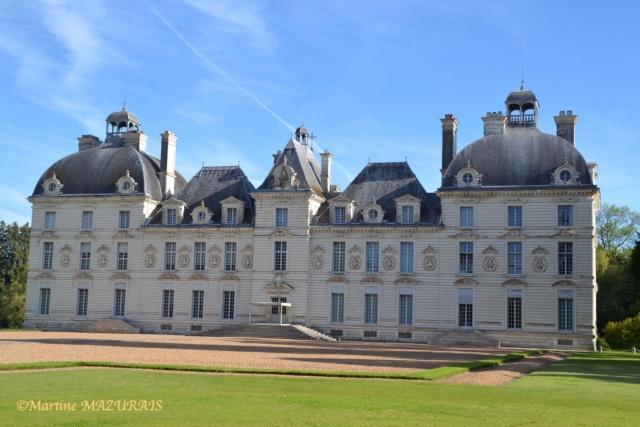 Cheverny - Le château 10-05-71