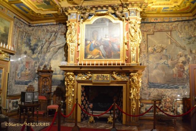 Cheverny - Le château 10-05-84