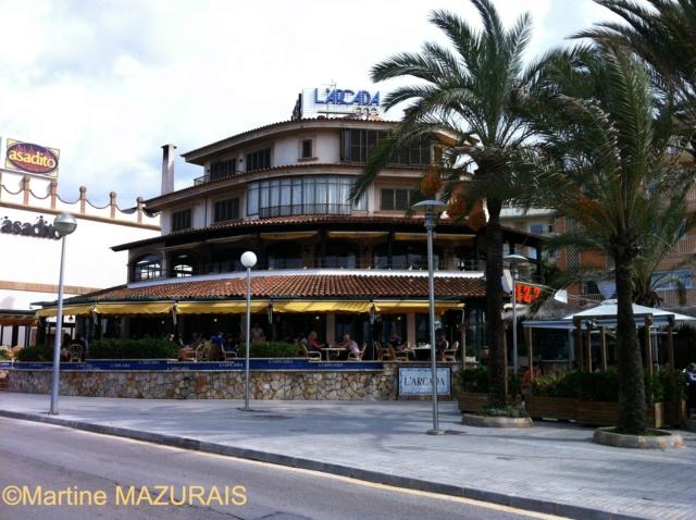 Playa de Palma - Restaurant L'Arcada 14-10-15