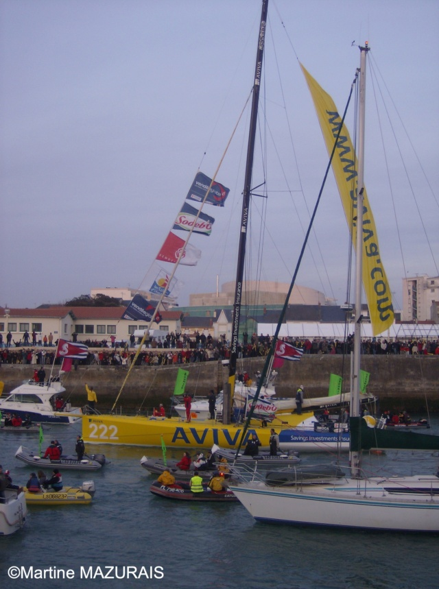 Les Sables d'Olonne - Vendée Globe 2008/2009 16-02-25
