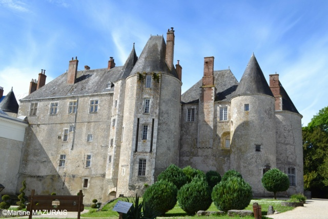 Meung sur Loire - Le château 16-05-91