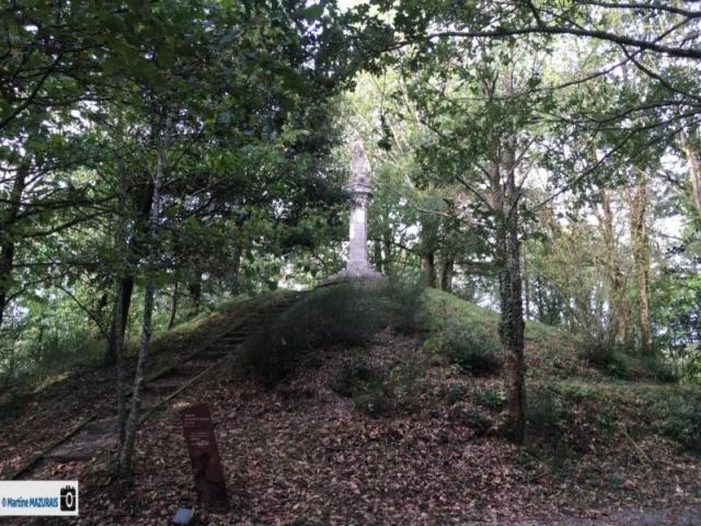 Les Lucs sur Boulogne - La motte féodale 17-10-16