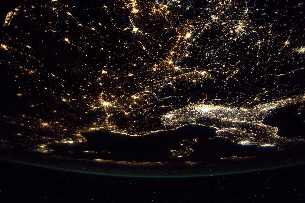 Mallorca vue de l'ISS 17620410
