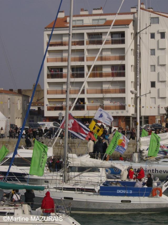 Les Sables d'Olonne - Vendée Globe 2008/2009 26-02-19