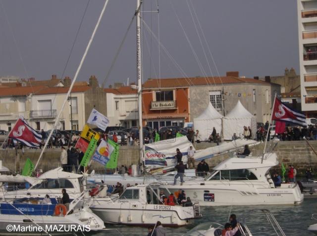Les Sables d'Olonne - Vendée Globe 2008/2009 26-02-20
