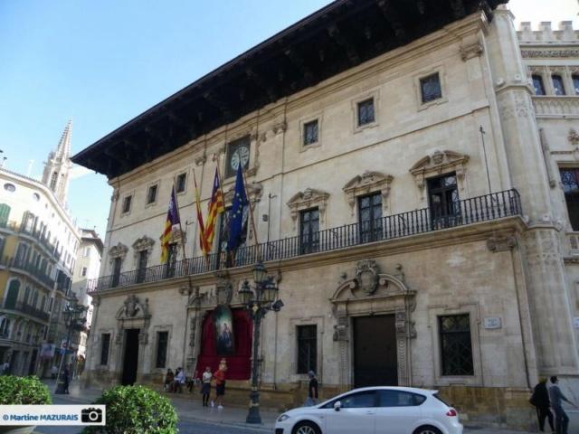 Palma de Mallorca – L'hôtel de ville 31-10-17