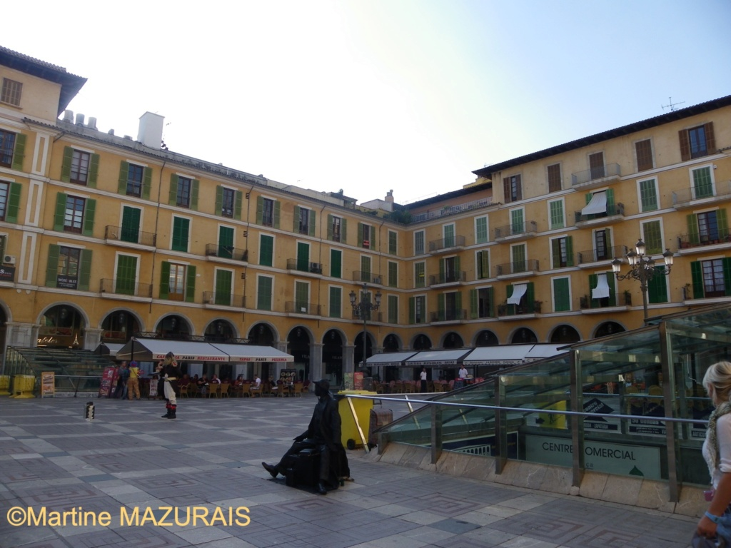 Palma de Mallorca – La Plaza Mayor 31-10-31