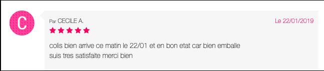 Avis clients Captur73