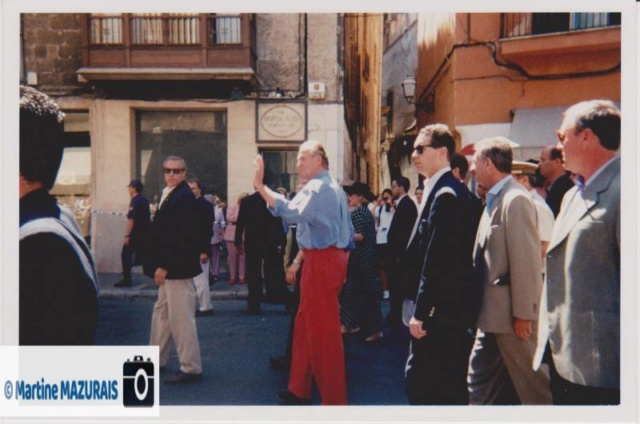 Juan Carlos 01er à Palma de Mallorca en Juillet 1997 Clinto13