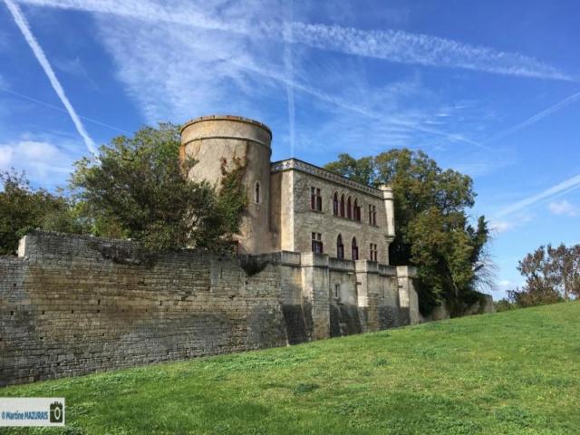 Maillezais - Le château Img-5112