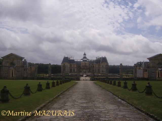 Maincy – Le château de Vaux le Vicomte Juille24