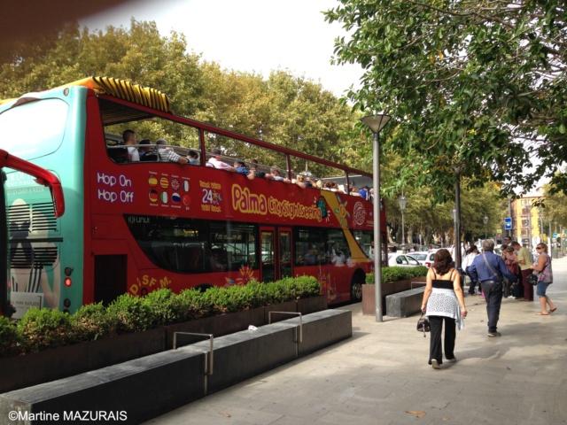 Palma de Mallorca - Bus touristique CitySightSeeing Octobr20