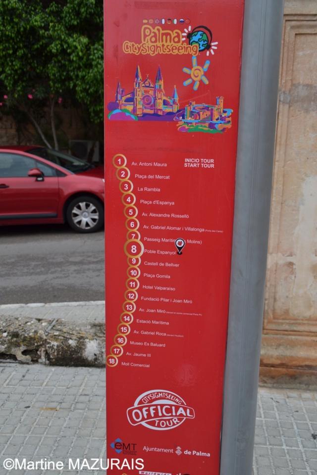 Palma de Mallorca - Bus touristique CitySightSeeing Octobr21