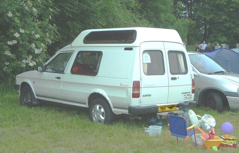 Austin Maestro Tandy Campervan Austin10