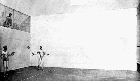 Le court de squash Squash10