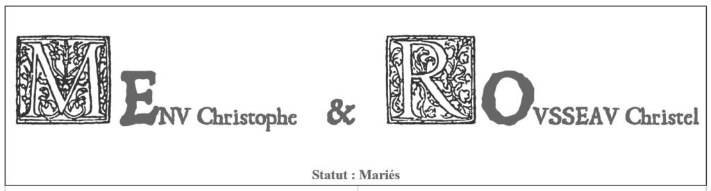 Une fonte style ancienne pour vos écrits 2019-062