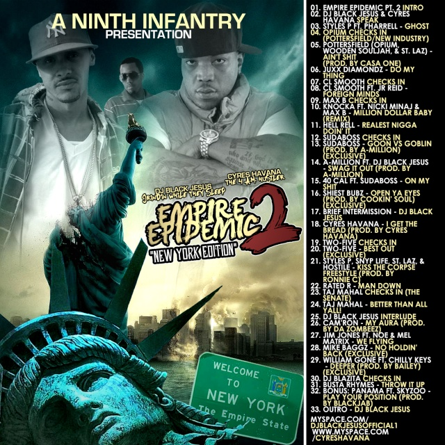 9th infantry & new industry / empire epidemic pt.2 (ny edition) 2008 Empire11