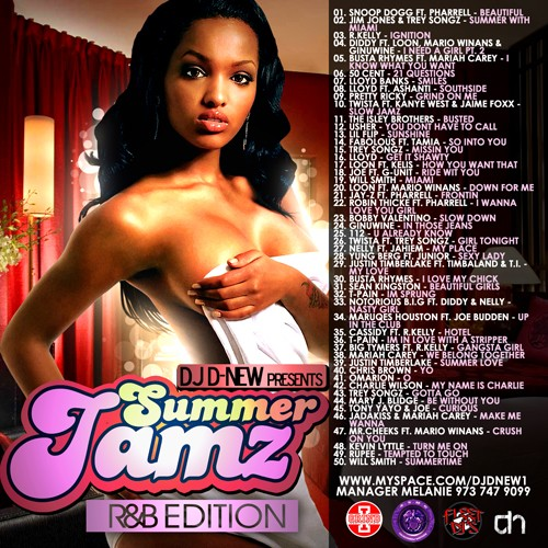 dj d-new / best of summer jamz (r&b edition) Summer10