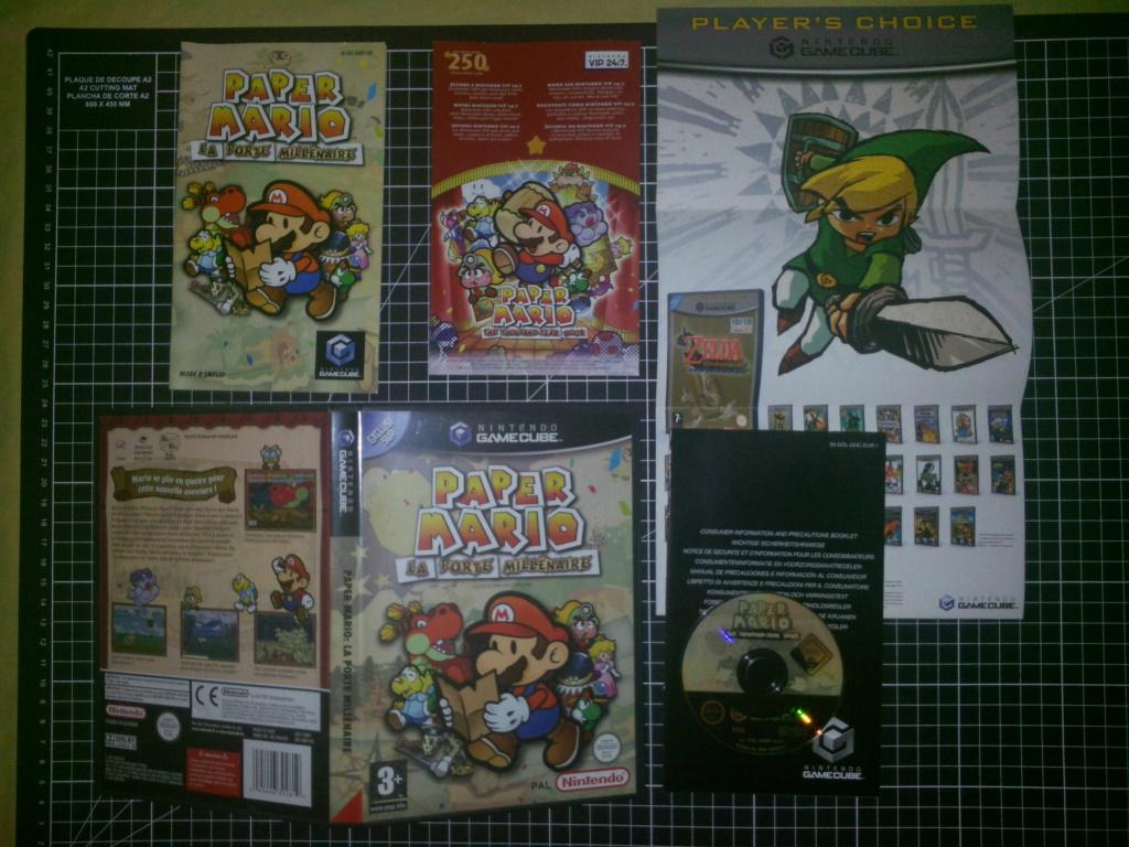 [VDS] Jeux SFC en loose, Paper Mario Gamecube Paper10