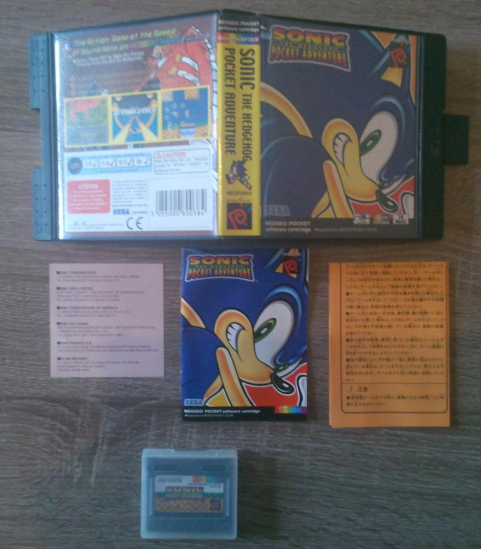 [EST] Jeux MD, NG Pocket, Nes, Snin Sonic10