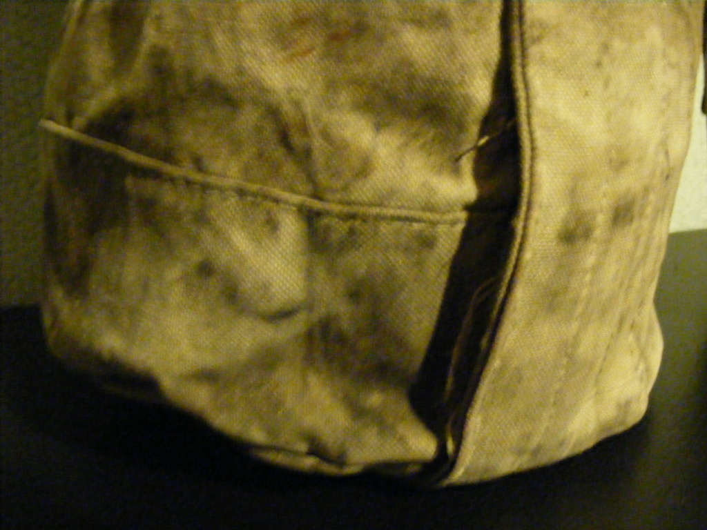 Canvas grenade bucket. Dscf3939