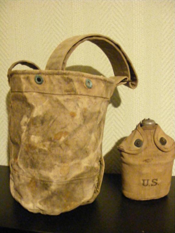 Canvas grenade bucket. Dscf3940
