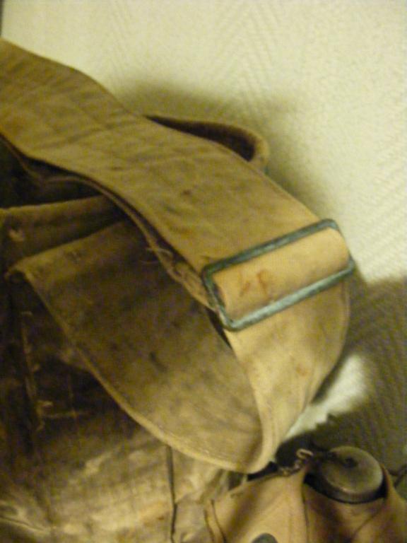 Canvas grenade bucket. Dscf3941