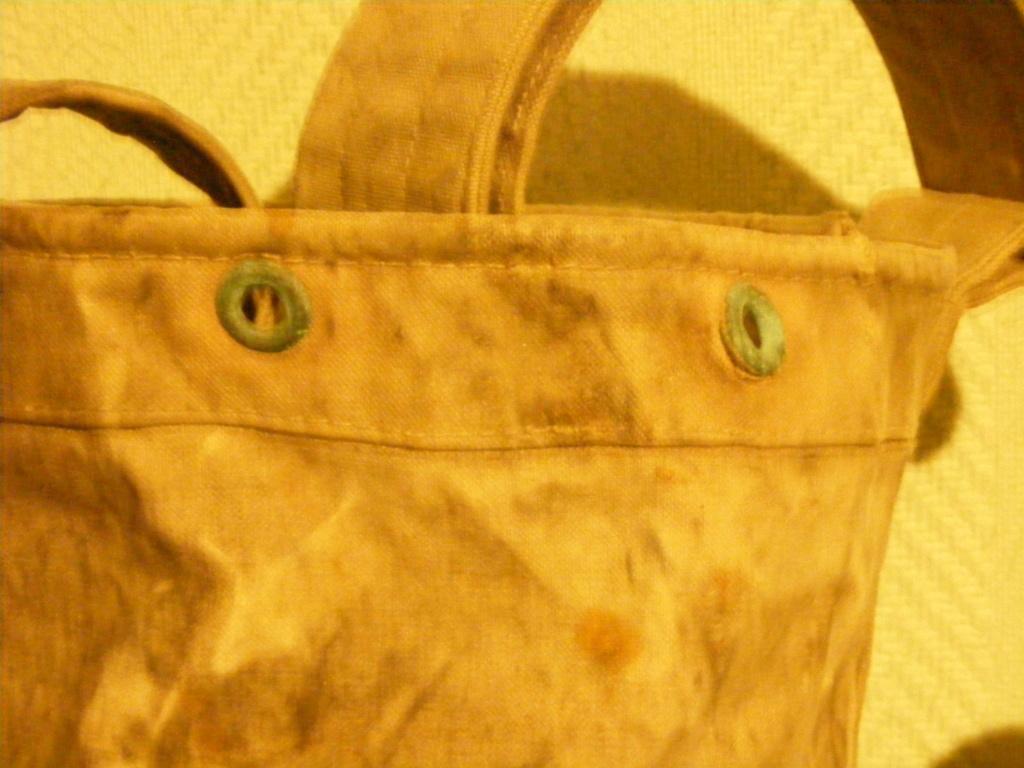 Canvas grenade bucket. Dscf3943