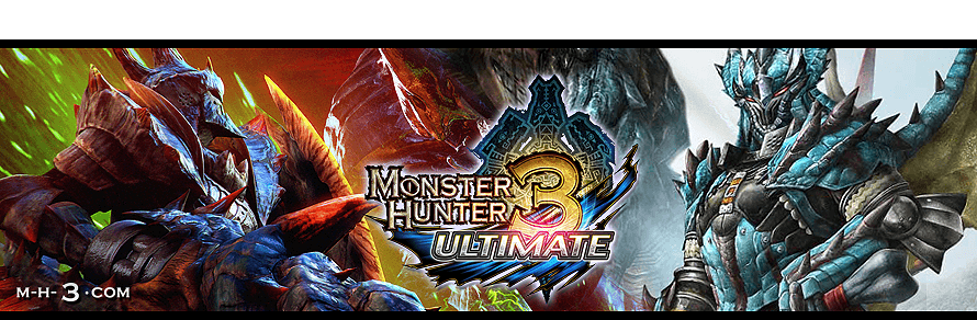 Forum Monster Hunter 3 Ultimate