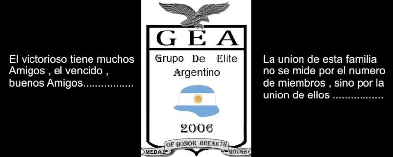 "Clan GEA ""Grupo De Elite Argentino"" Firmau11"