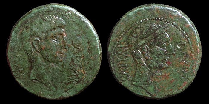 Ce grand bronze de Jules Cesar/Octave est il authentique ? 41610