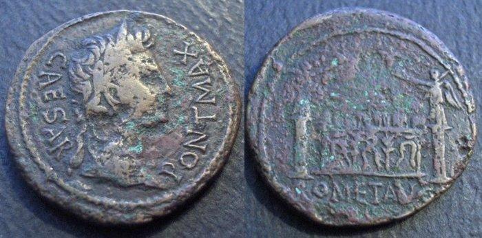Monnaie romano-gauloise Caesar10