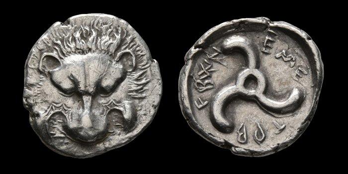 Lycie -Dynastes du IVe siècle L110