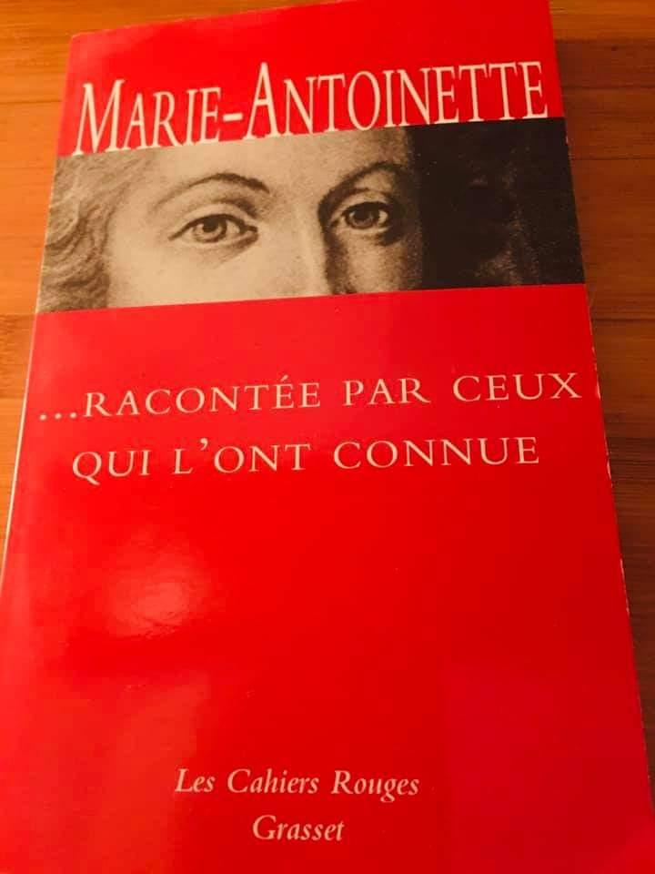 Marie-Antoinette racontée par ceux qui l'ont connue - Editions Grasset Fb_img20