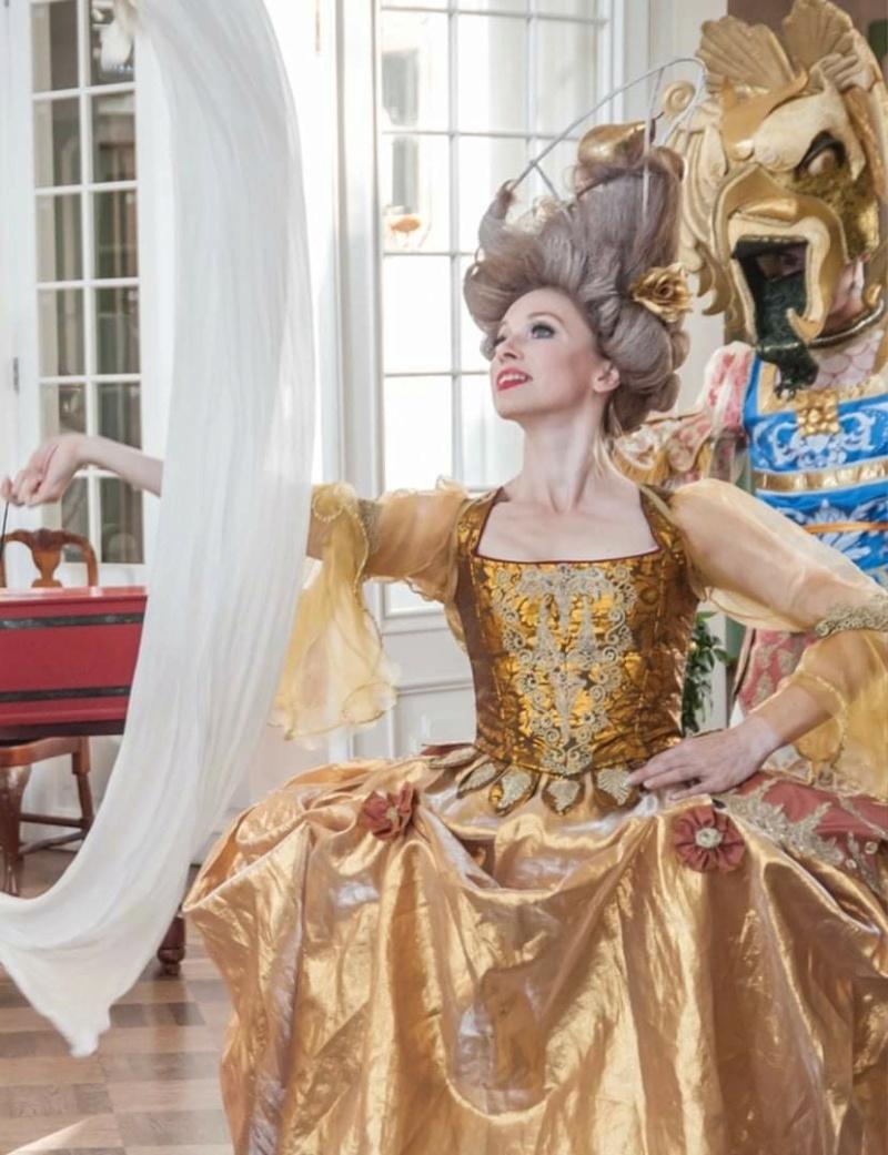 Tenues d'époque avant la réforme de Mlle Clairon, dame de la Comédie Française  Fb_img25