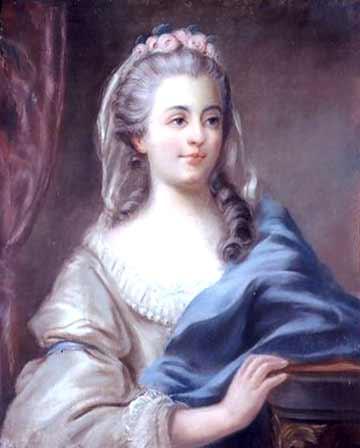 Louise Contat actrice fidèle à la reine Greuze10
