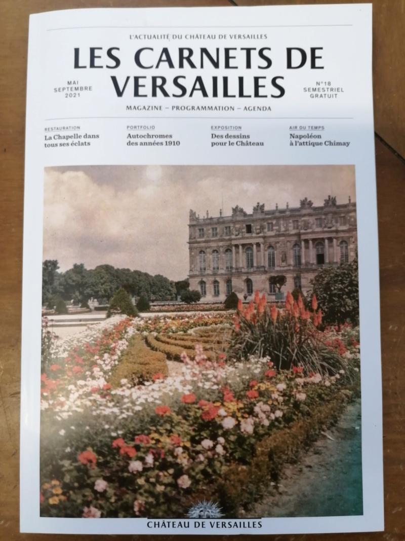 Magazine-programme : Les Carnets de Versailles  Img_2084