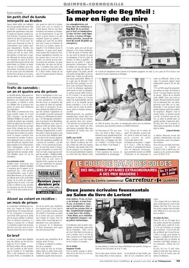 SÉMAPHORE - BEG MEIL (FINISTÈRE) - Page 2 02080211